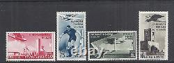 1934 Italy Airmail Airpost 2nd Soccer/Futbol World Cup C62-C65 484-487 MNH