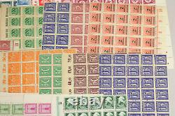 6000 Mint MNH Germany Stamps Full Sheets Blocks+ Early Inflation Nazi Airmail++