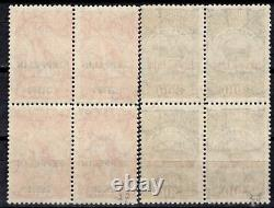 BRAZIL 1931 AIR MAIL STAMP Sc. # C 26/7 MNH ZEPPELIN BLOCK OF FOUR
