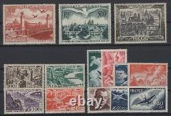 Dh144446/ France / Airmail / Y&t # 16 / 29 Mint Mnh Complete