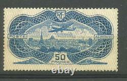 France 1936 Air post C15 MNH signed
