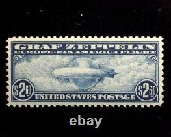 HS&C Scott #C13-15 1930 Zeppelin Issue Choice set witho usual gum bends XF MNH