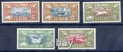 ICELAND 1930 Millenary of Parliament Airmail set of 5 MNH /