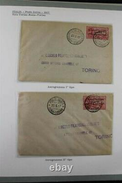ITALY + COLONIES MNH Airmails 1917-1961 Premium Investment Stamp Collection