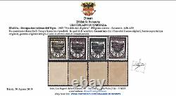 ITALY EGEO GERMAN OCCUPATION n. A56-A59 CERTIFICATED MNH cv 720$