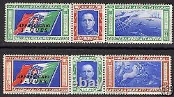 Italy 1933 YV Airmail 48-49 pilot QUES MNH VF