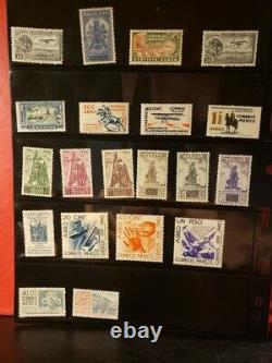 Mexico Airmail Stamps Lot of 39 MNH see details for list